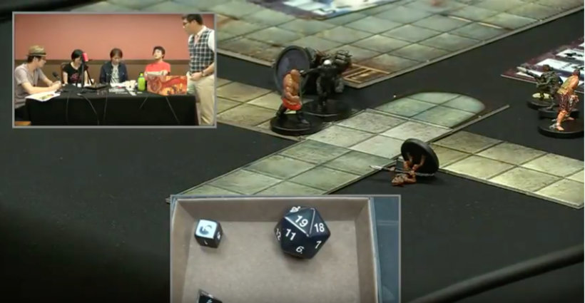 Combat, dice roll, and players
