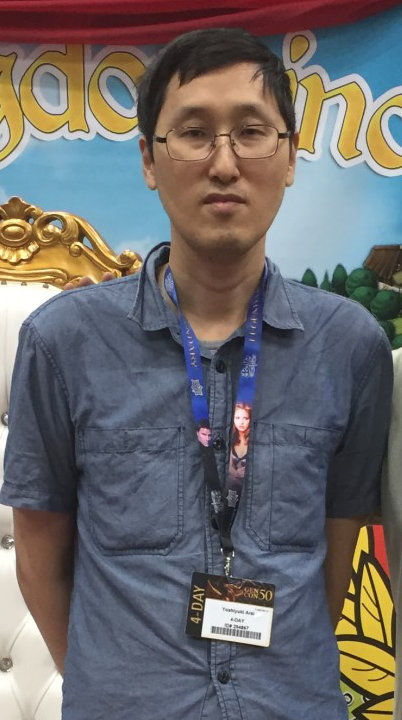 Yoshiyuki Arai closeup