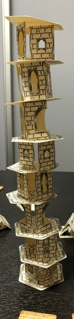 A completed tower