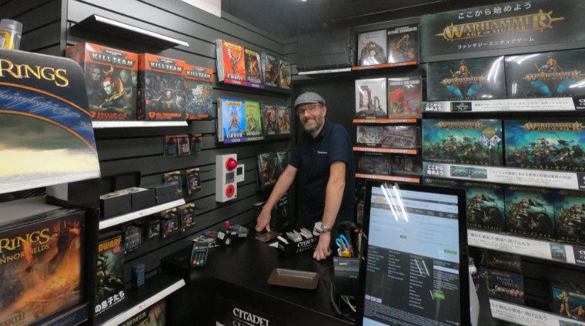 Warhammer Yokohama owner Daniel