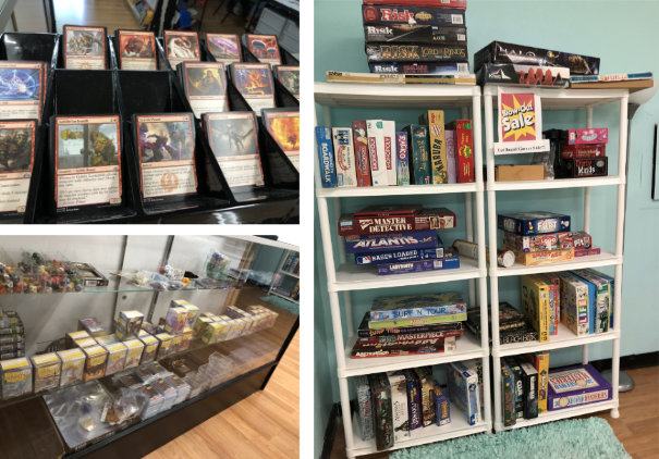 And yet more games and supplies