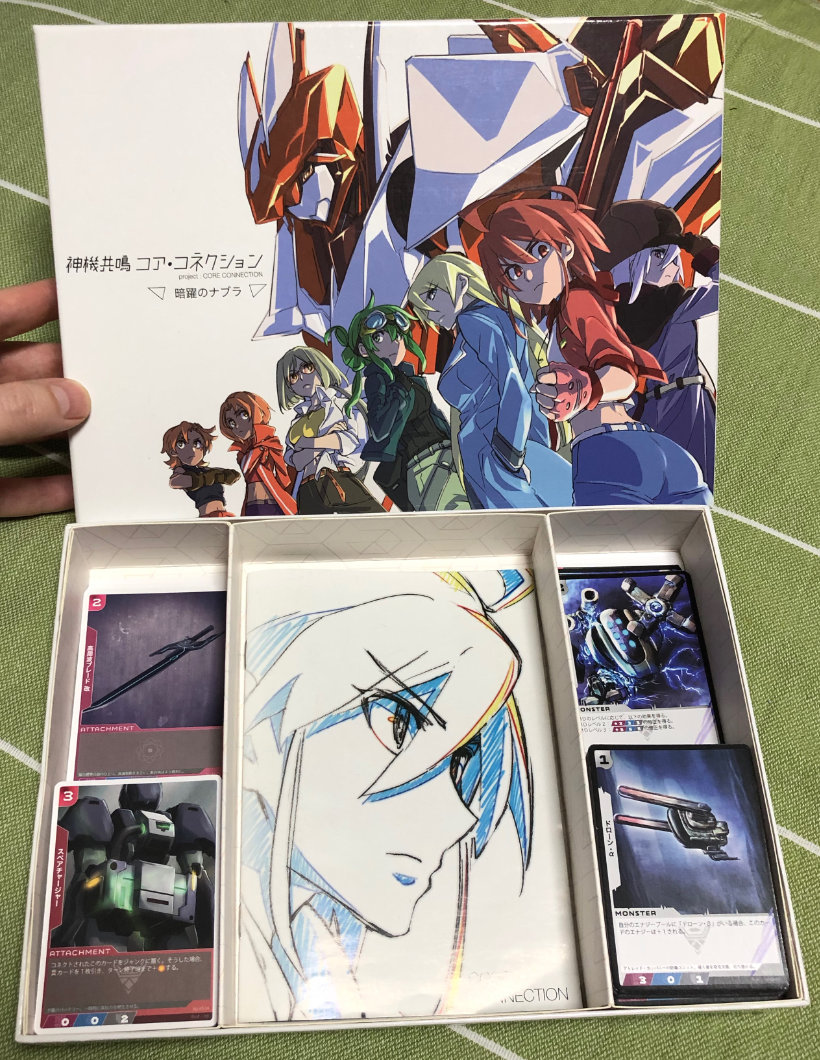 Box cover and contents