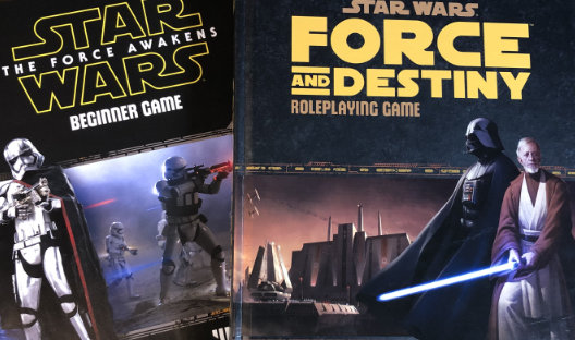 Force Awakens Beginner Game and Force and Destiny