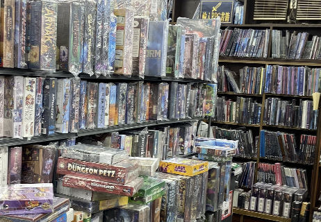 Import board games and TRPG books.